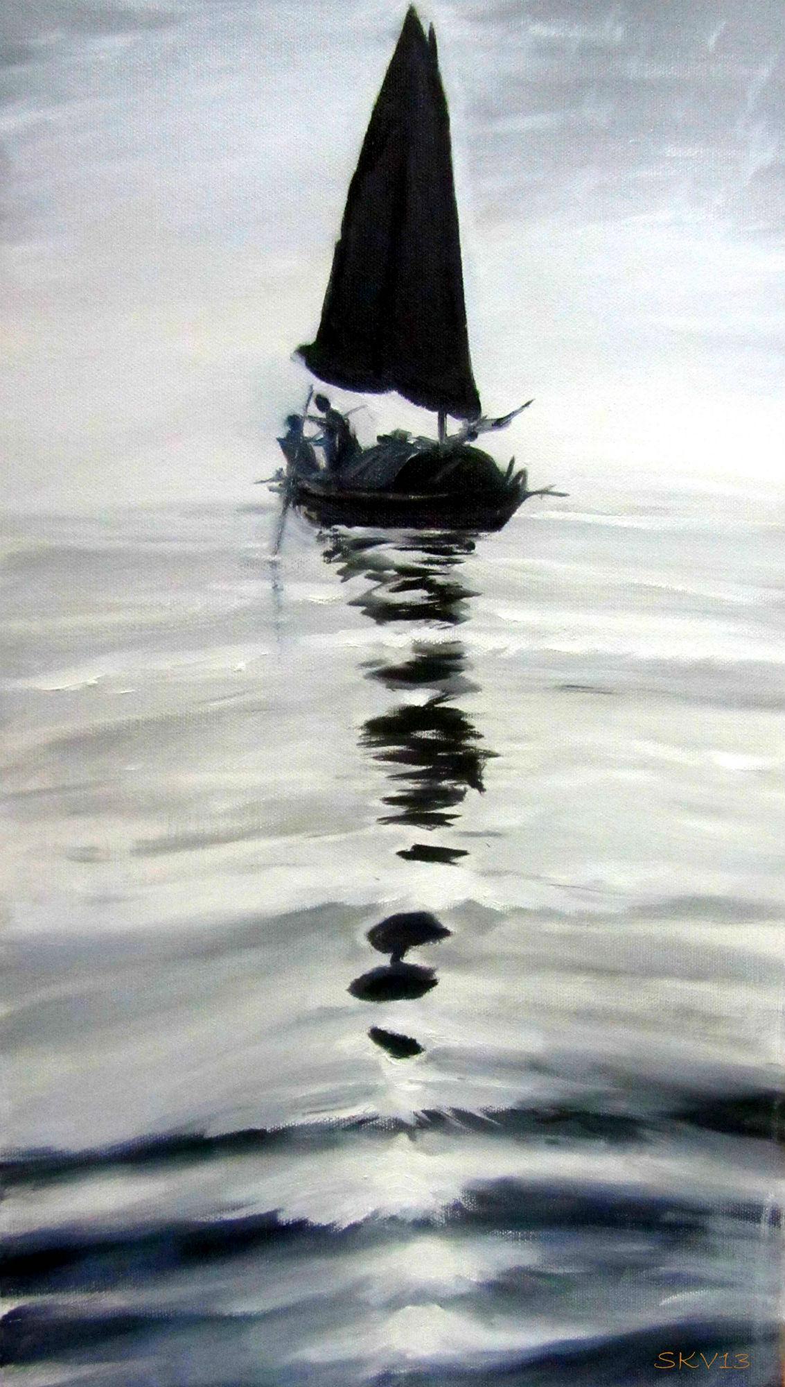 Kahden kesken merellä