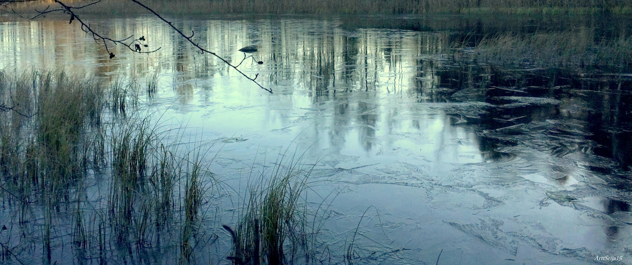 Jäätyvä järvi: Lahmajärvi, Urjala
