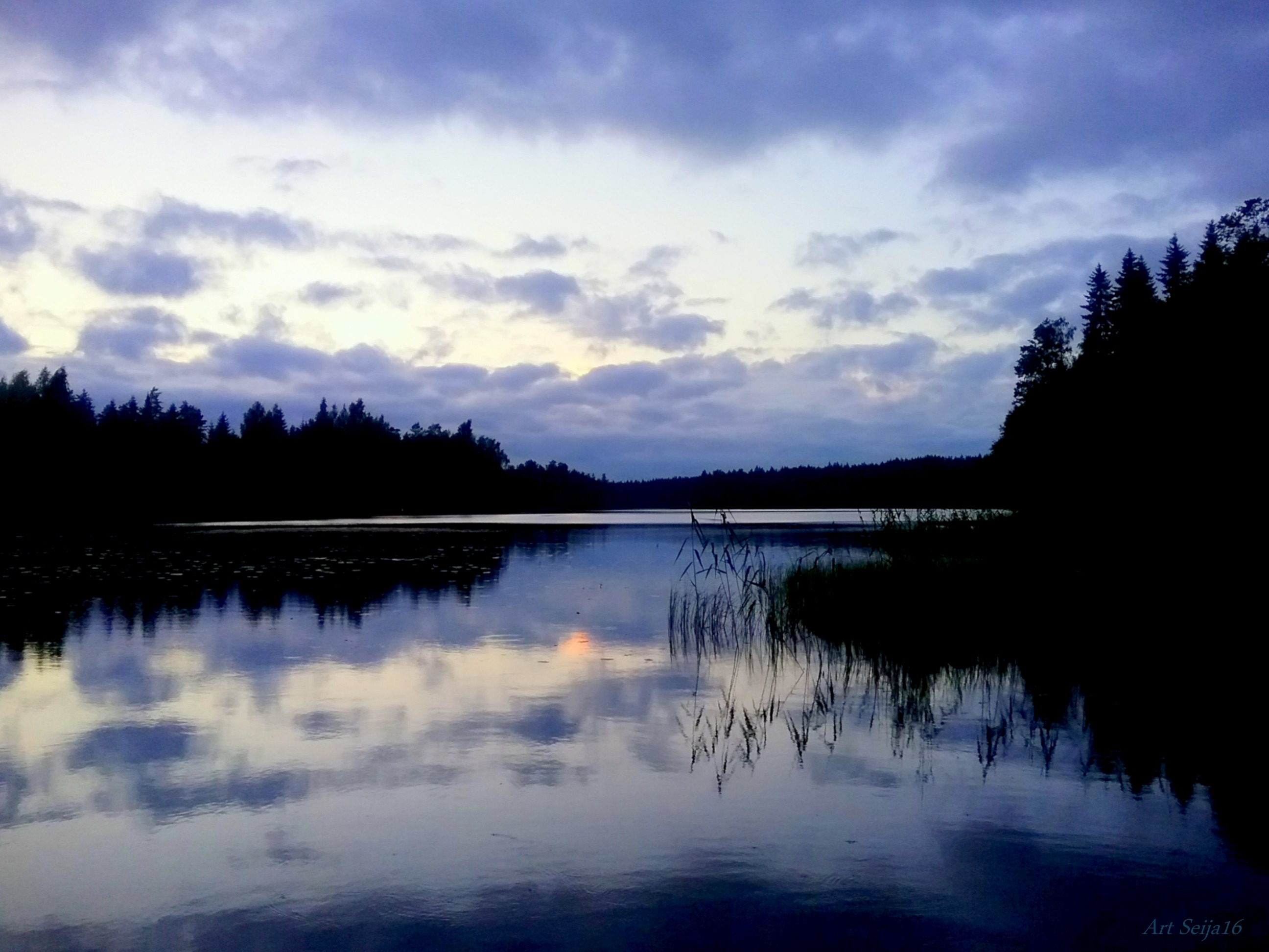 Mahtavat pilvet Lahmajärvellä, Urjala