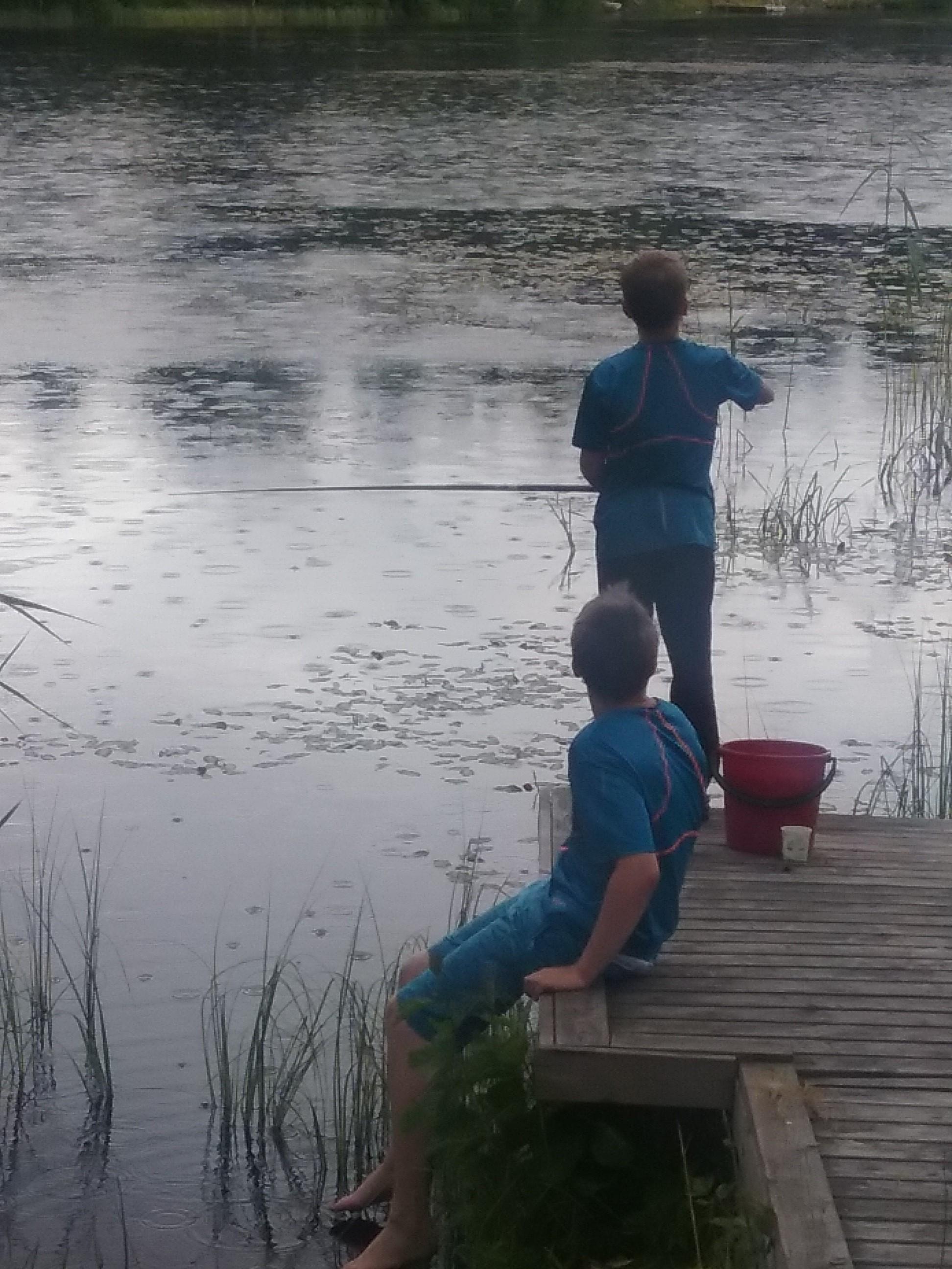 Nuoret onkijat: Lahmajärvi, Urjala